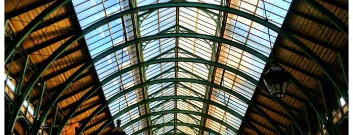 Covent Garden Market is one of London Town.