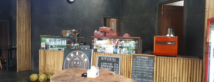Freak Coffee is one of Bali nice places.