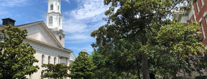 Historic Downtown Savannah is one of Savannah, GA.