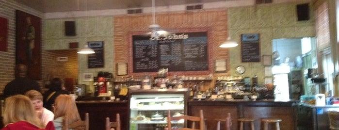 St. Johns Coffeehouse is one of Tempat yang Disukai Matt.