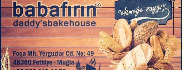 Baba Fırın & Cafe Çalış is one of EATeries @Fethiye.