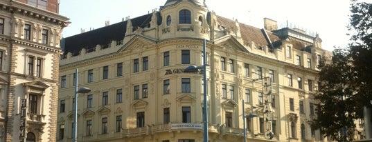 Schick Hotel Erzherzog Rainer is one of สถานที่ที่ Banu Y ถูกใจ.