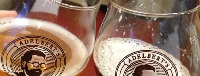 Adelbert's Brewery is one of Austin.