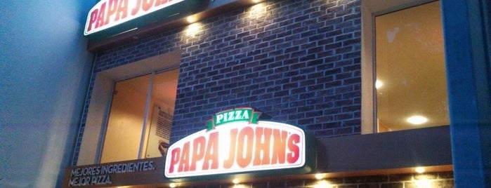 Papa John's Pizza is one of Lugares recomendados.