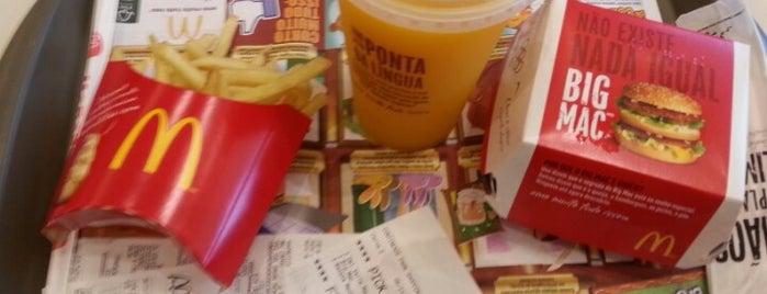 McDonald's is one of Lieux qui ont plu à Cristiane.