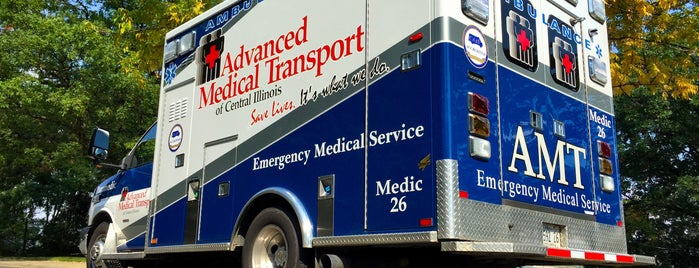 Advanced Medical Transport of Central Illinois is one of Ideas for Jen's visit.