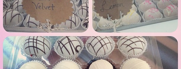 Toni Rivard Cakeballs is one of Dallas Desserts.