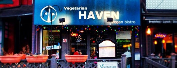 Vegetarian Haven is one of Locais curtidos por Lara.