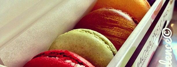 Chantal Guillon Macarons & Tea is one of SF Eats.