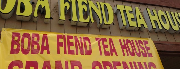 Boba Fiend Tea House 金星 is one of BOBA TIME!!!!.