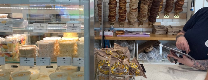 Rebelle Artisan Bagels is one of Providence Goals.