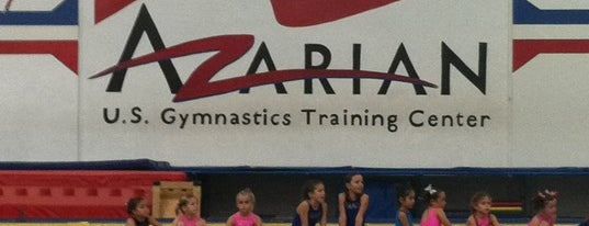 Azarian Gymnastics is one of Matt's Liked Places.
