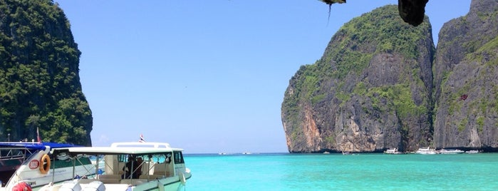 Maya Bay is one of Trips / Thailand.