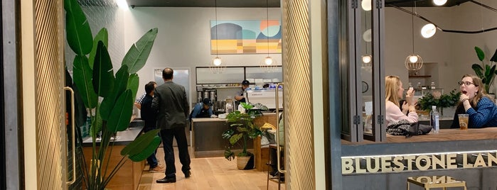 Bluestone Lane is one of Australian Owned/Run Coffee in NYC.