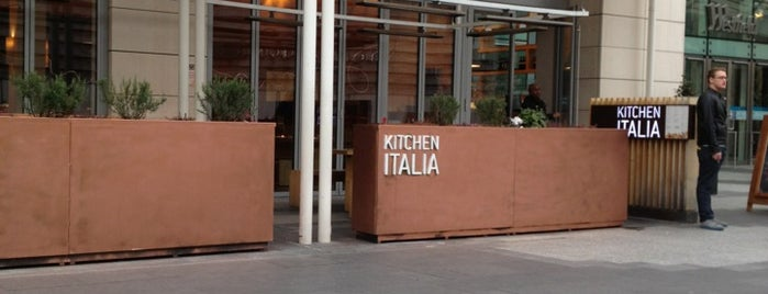 Kitchen Italia is one of FOOOOOD!!.