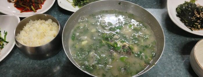 고덕식당 is one of 千年古都 진주.