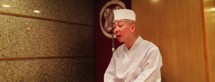 Sushi Kanesaka is one of TODO.
