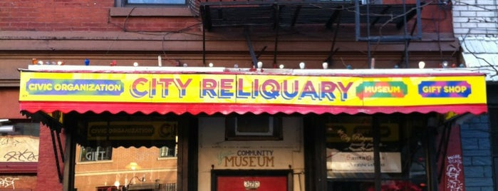 The City Reliquary is one of Places To Visit.