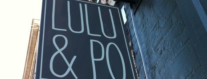 Lulu & Po is one of 300 ASHLAND.
