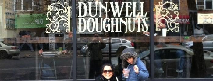 Dun-Well Doughnuts is one of Brooklyn.