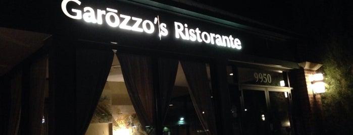 Garozzo's Ristorante is one of 2015 Restaurant Week.