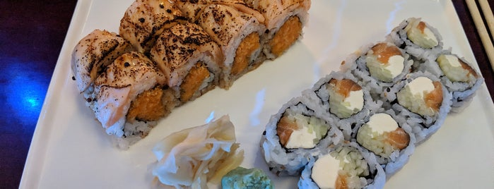 Bleu Sushi is one of Ipek 님이 좋아한 장소.
