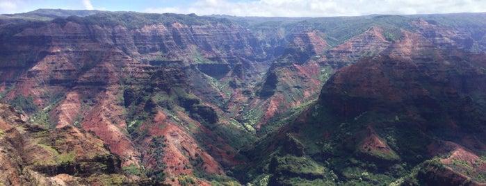 Waimea Canyon Lookout is one of Places to Visit: Kauai, HI.