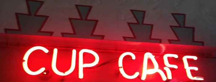 The Cup Cafe is one of T-Town.