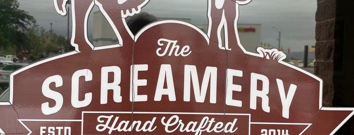 The Screamery Hand Crafted Ice Cream is one of Orte, die John gefallen.
