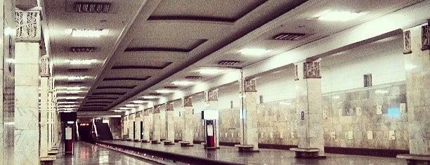 metro Partizanskaya is one of Locais curtidos por Ilya.