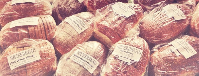 Ric's Bread is one of Lugares favoritos de Chrissy.