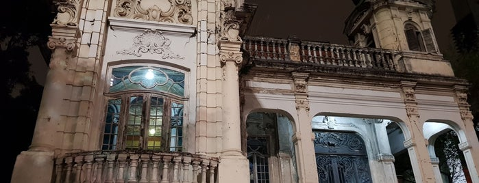 Casarão da Família Franco de Mello is one of Marcos arquitetônicos da cidade de São Paulo.
