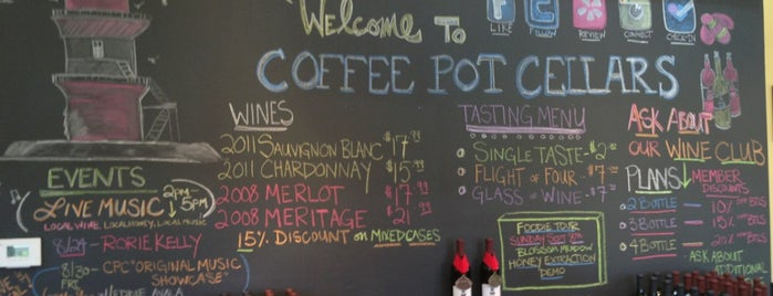 Coffee Pot Cellars is one of Road Trip to the North Fork.