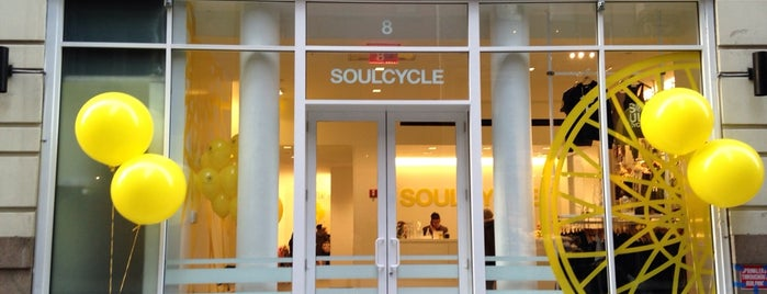 SoulCycle 19th is one of Tempat yang Disukai Shelley.
