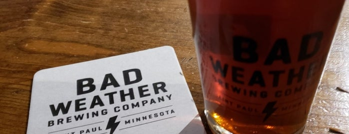 Bad Weather Brewing Company is one of Lieux sauvegardés par Brent.