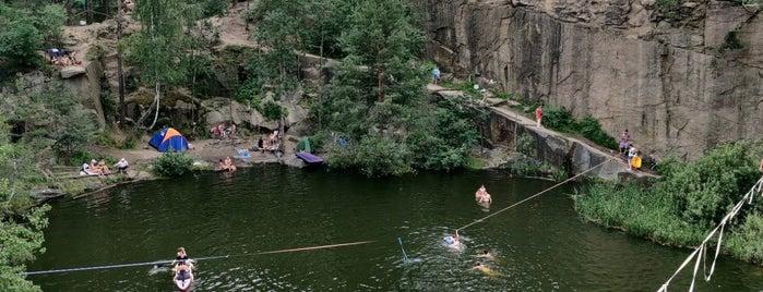 Коростишівський каньон is one of สถานที่ที่ Igor ถูกใจ.