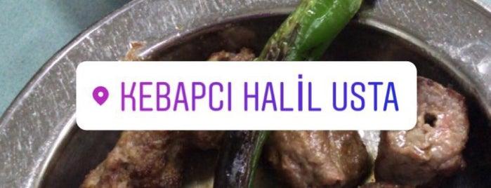 Kebapçı Halil Usta is one of Yiyorum Ama Kilo Almıyorum'un Beğendiği Mekanlar.