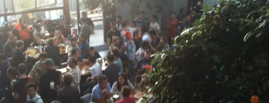 Southern Pacific Brewing is one of Non-Zeitgeist Patios in SF.
