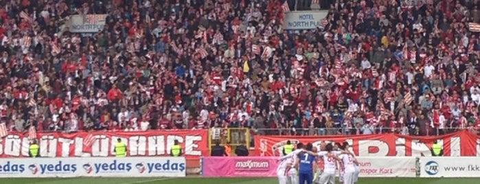 Samsun 19 Mayıs Stadyumu is one of Tempat yang Disukai Taner.