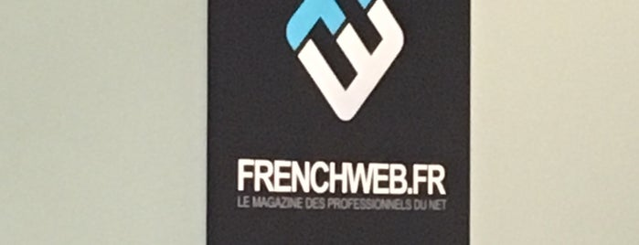 Frenchweb HQ is one of Locais curtidos por Les Marqueurs.