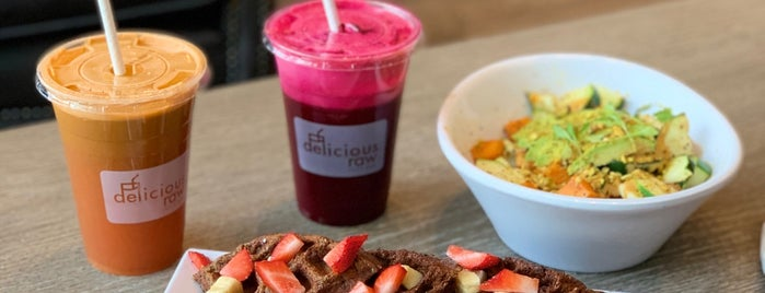 Delicious Raw is one of Restaurantes Miami.