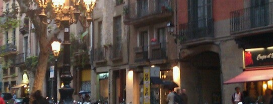 Passeig del Born is one of barcelona baby.