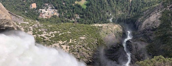 Yosemite Falls Overlook is one of LA & SF.