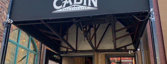 The Cabin is one of Park City.