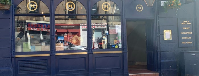 Monty's is one of Scotland bar/pub.