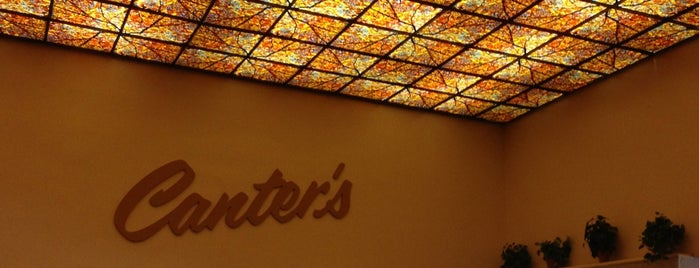 Canter's Delicatessen is one of A Must! in Los Angeles = Peter's Fav's.