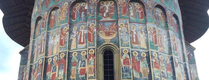 Mănăstirea Sucevița is one of UNESCO World Heritage Sites in Eastern Europe.