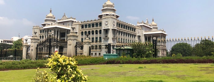Vidhana Soudha is one of BLR.