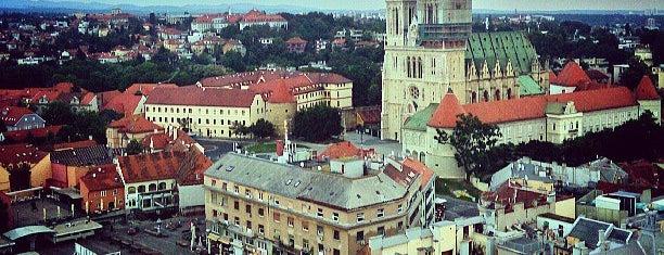 Zagreb 360° vidikovac is one of Zagreb.