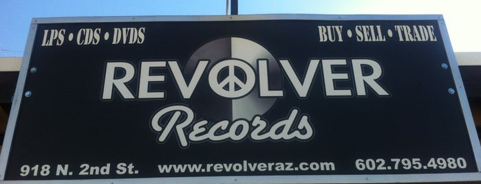 Revolver Records is one of Phoenix New Times 10x Level up - VMG.